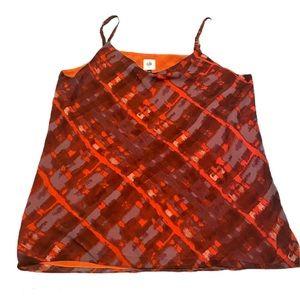 NWOT CAbi tank blouse shirt large